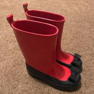Other - Girls bow rain boots